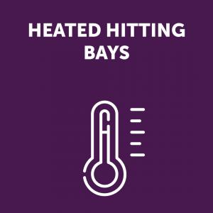 Heated Hitting Bay Sign